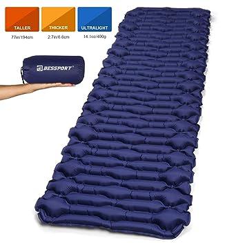 Amazon.com: Bessport - Colchoneta de camping para dormir ...