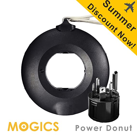 Review MOGICS Donut-Travel Power Strip-