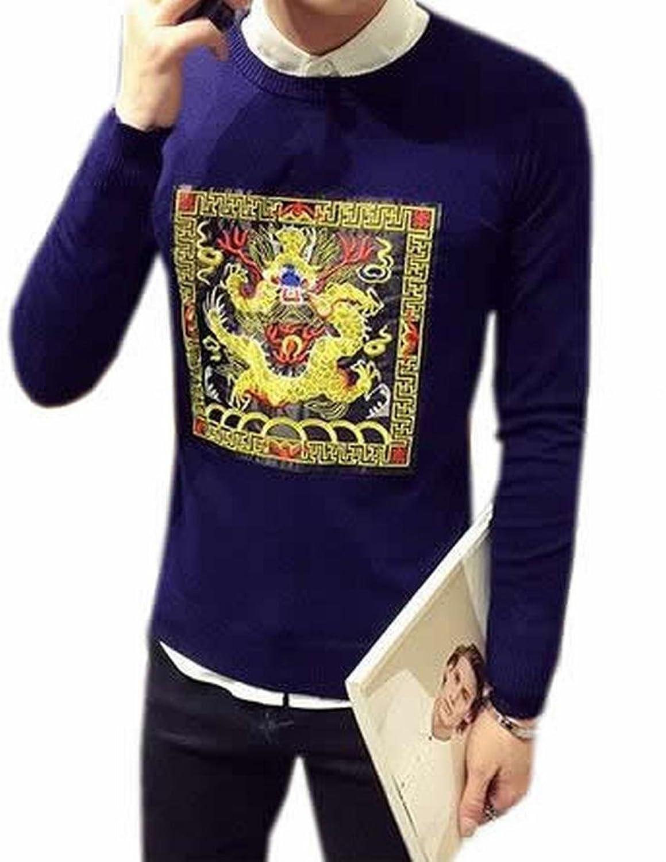 MLG Men Long Sleeve Casual Button Down V-Neck Cardigan Sweater 2 XXL