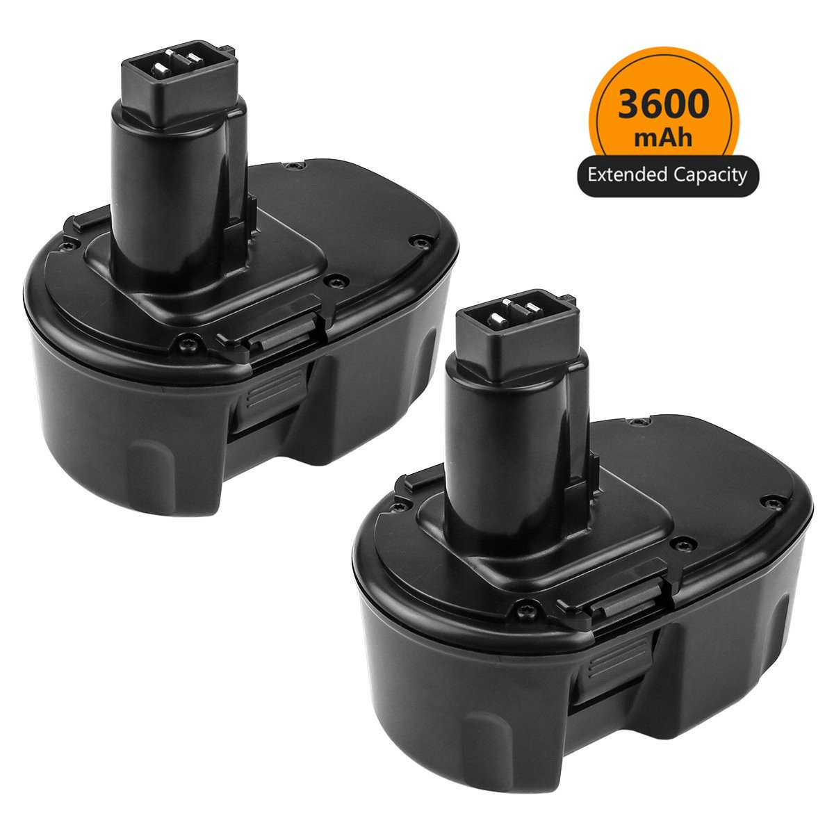 [Upgraded to 3600mAh] 3.6Ah Ni-Mh Replace for Dewalt 14.4V Battery XRP DC9091 DW9091 DW9094 DE9091 Cordless Power Tool 2 Pack