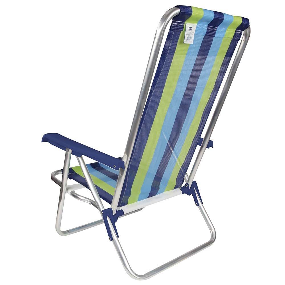 Amazon.com: MOR - Silla de playa de 4 posiciones de aluminio ...