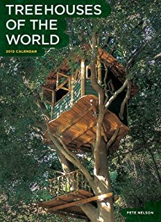 treehouses of the world 2010 wall calendar