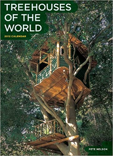 treehouses of the world 2009 wall calendar