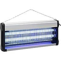 Festnight Lampe Anti-Insectes Anti Moustiques Exterieur Noir Aluminium ABS 40 W