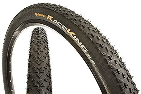 Continental Bicycle Tires >> Amazon Com Continental Race King Fold Protection Bike Tire Black