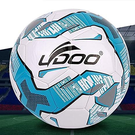 Balón 19 cm Piel sintética Costura Portátil Wearable Match Fútbol ...