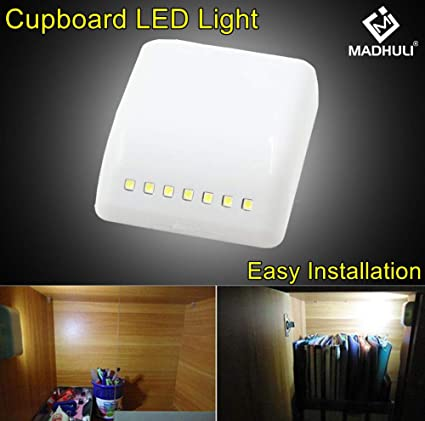 Universal 7 Led Inner Led Cabinet Hinge Light Induction Lamp Cupboard Closet Wardrobe Furniture Bedroom Kitchen Night Lighting Lights & Lighting