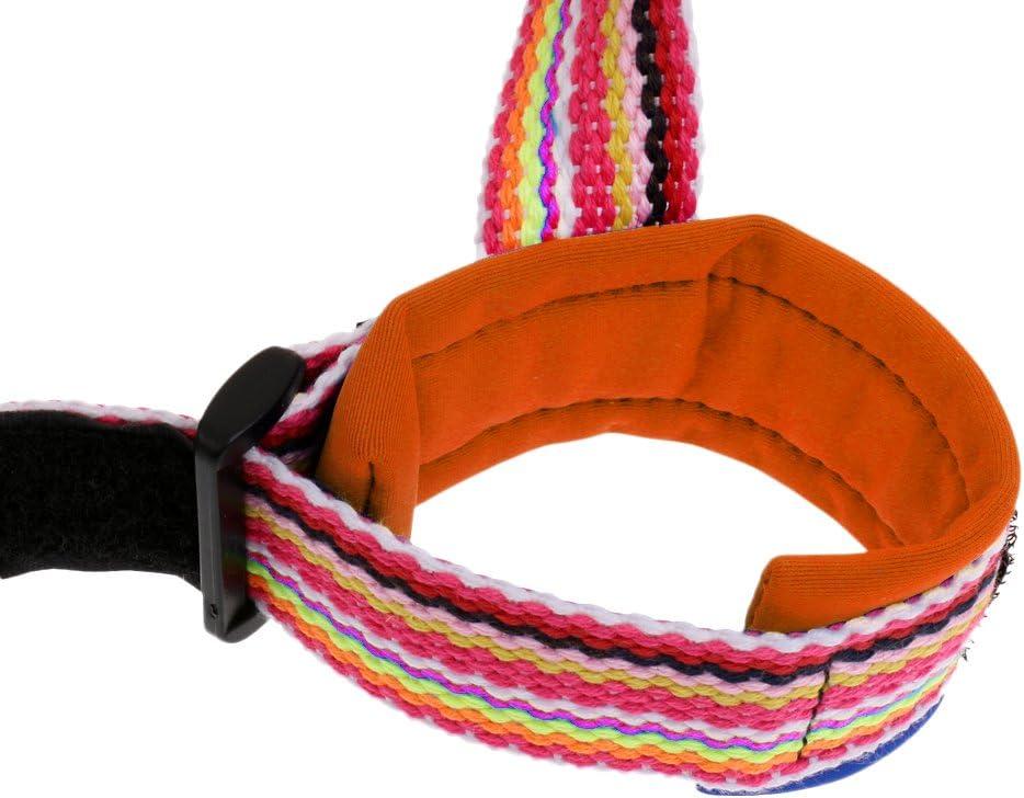 MagiDeal Kleinkind Kinder Sicherheitsleine Anti-Verloren Sicherheitsgurt Baby Sicherheit Handgelenk Band mit Klettverschluss Orange