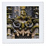 3dRose Danita Delimont - Religion - The Manueline Window, Convent of Christ, Tomar, Portugal - 25x25 inch quilt square (qs_277809_10)