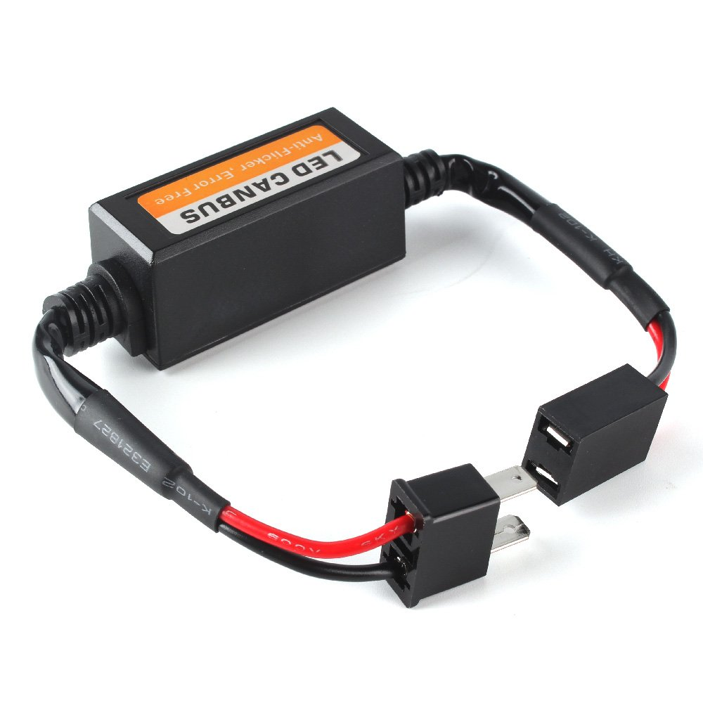 Runqiao 2 X H7 Led Hid Fog Light Headlight Error Resistor Wiring Ac Harness To Socket 50w