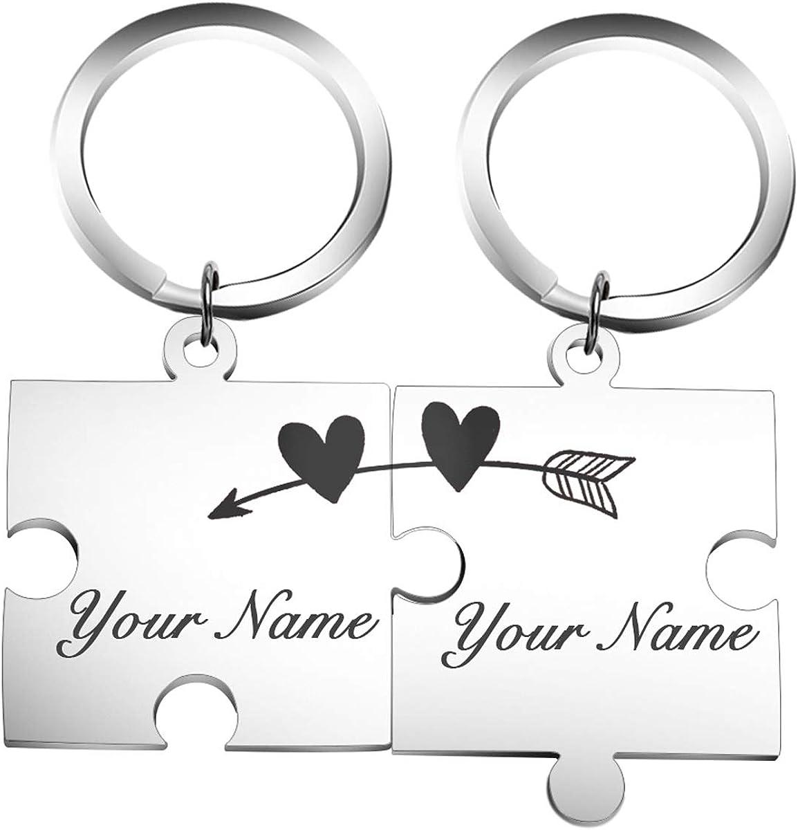 For Her Necklace Unicorn Name Gift Set Personalised Bracelet Gift Set Keyring