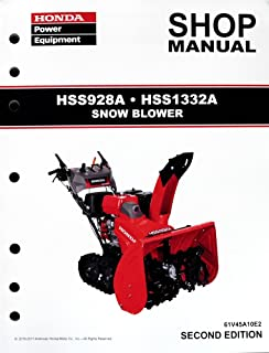 amazon com honda hs624 hs724 hs828 hs928 hs1132 snow blower service rh amazon com Honda Two-Stage Snow Throwers Honda Snow Throwers Model 624