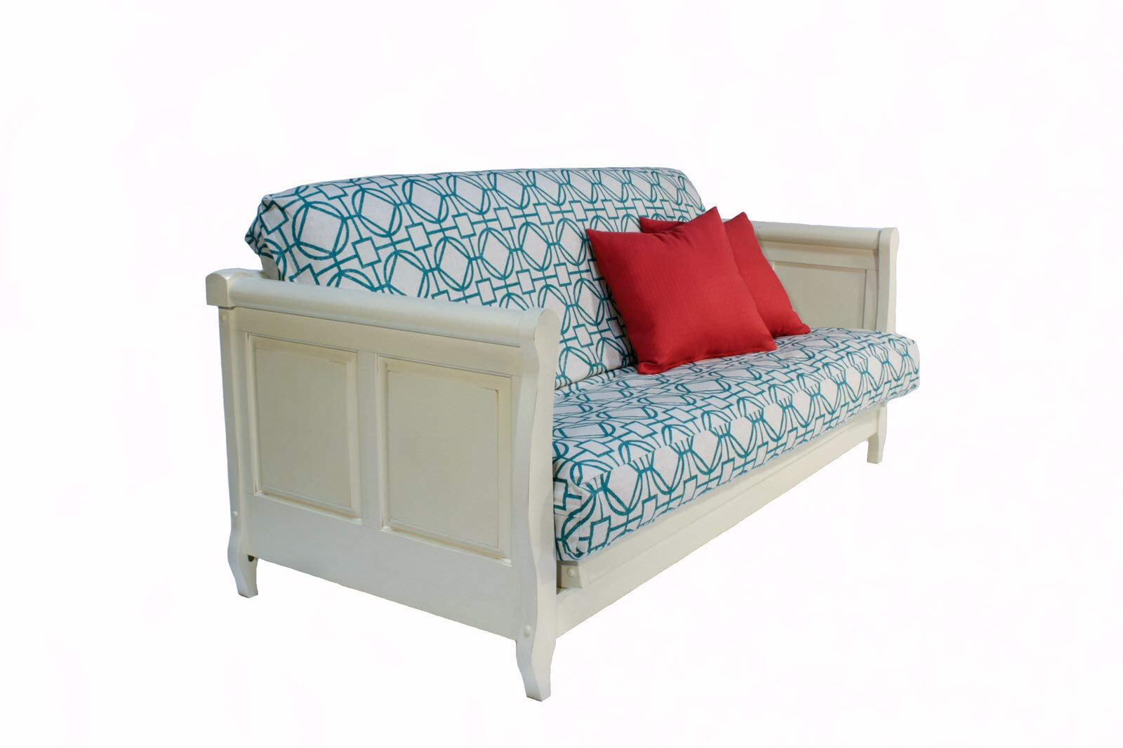 Adriana Antique Full Wall Hugger Futon Frame by Strata Furniture by Strata Furniture