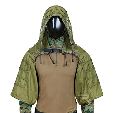 d46416fd719ee Tactical Sniper Ghillie Suit Lightweight Hunting Ghillie Suit Foundation  Army Green