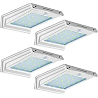 4-Pack Urpower 20 LED Outdoor Solar Motion Sensor Lights