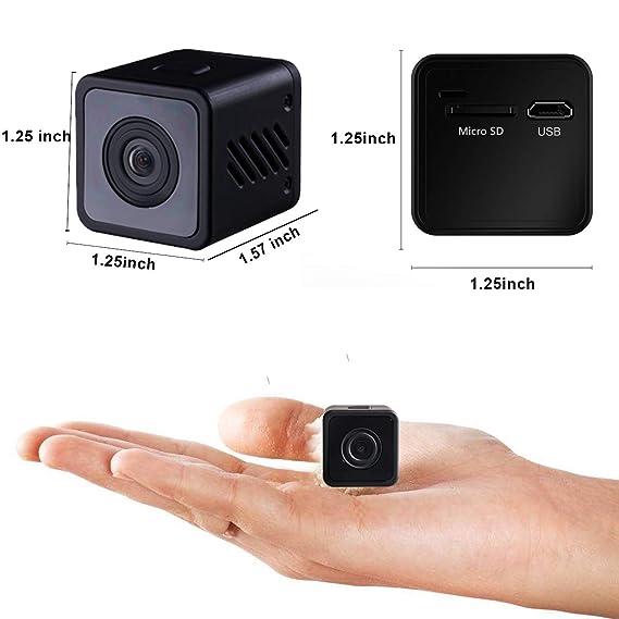 Amazon com : Hidden Spy Camera with 1080P Portable Small Security