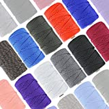 GOLBERG G Paracord Mil Spec Type III 7 Strand Parachute Commercial Grade Nylon Cord Spool Outdoor Hiking Lanyard Bracelet Strong Strength Rope Tie Down