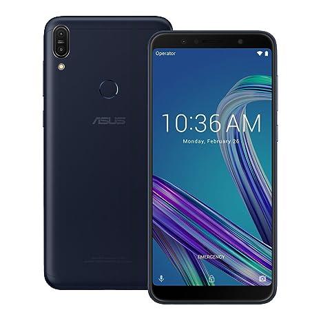 ASUS ZenFone Max Pro (ZB602KL) 6GB / 64GB 6 0-inches Dual SIM Factory  Unlocked - International Stock No Warranty (Deepsea Black)