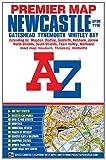 Newcastle Premier Map (A-Z Premier Street Maps)