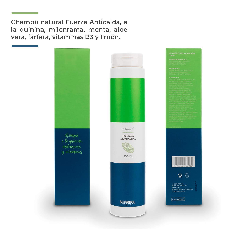 🥇 Champú Anticaída Natural Ecofriendly Especialmente Para ...
