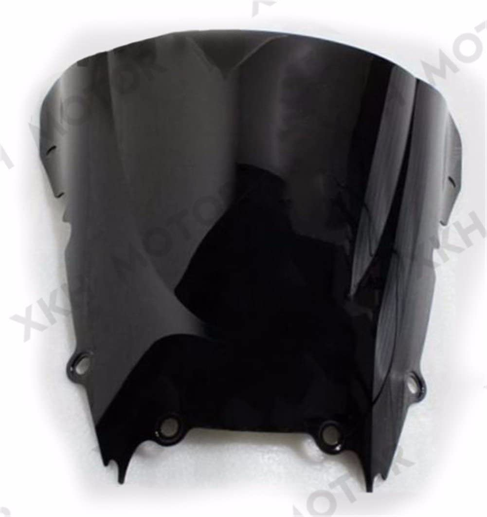 XKH Group Motorcycle Dark Smoke Windscreen Windshield For Yamaha Yzf R6 1998-2002 1999 2000 2001 2002