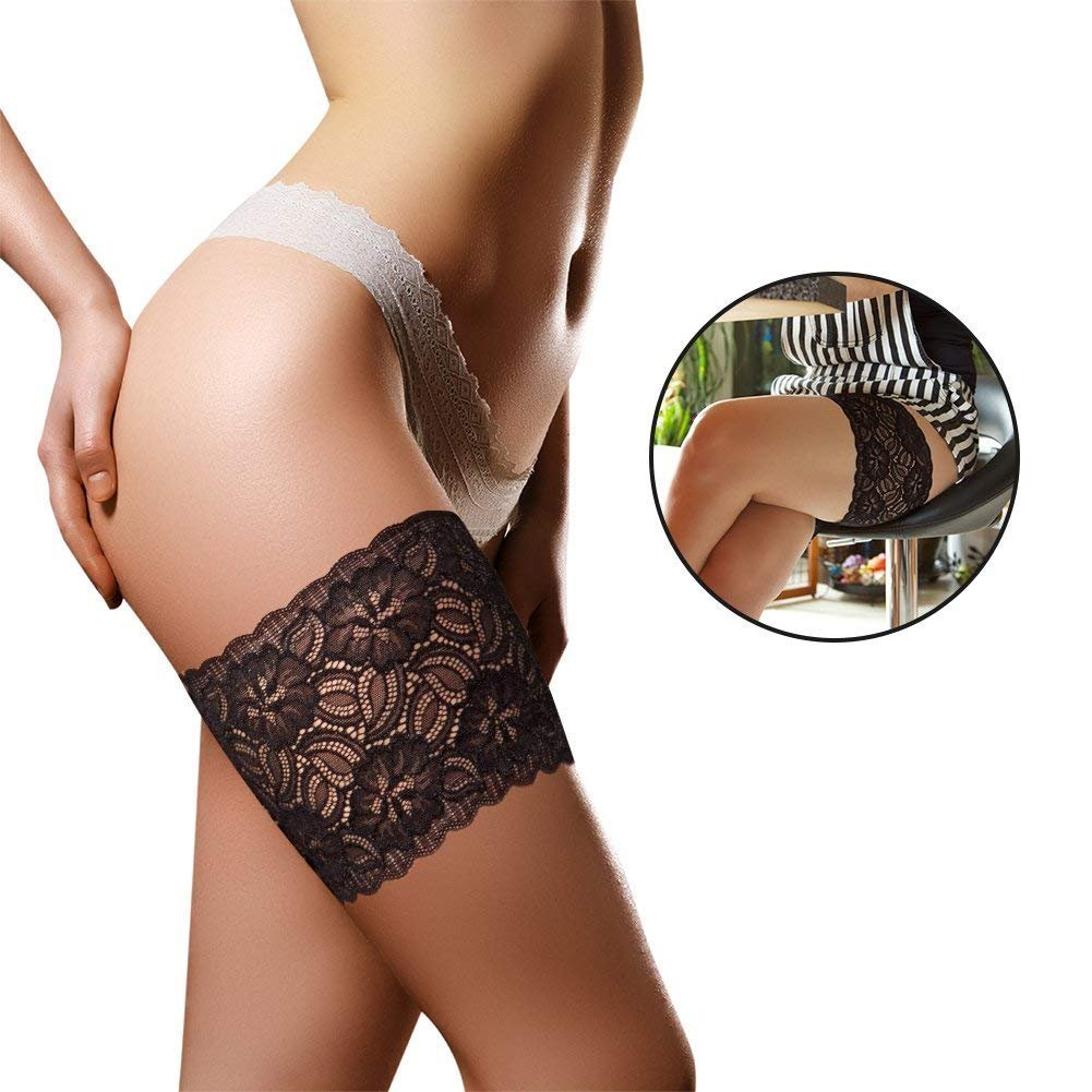 WEICHENS Anti Chafing Thigh Bands Sexy Leg Bands Prevent Thigh Chafing