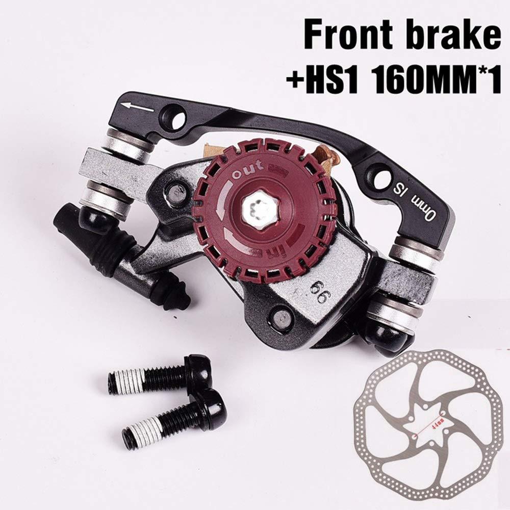 FR7マウンテンMTBバイクブレーキフロントリアHS1 / G3 160/180 mm用BB7自転車ブレーキキャリパー (Color : Suit 4)   B07Q2KVVP4