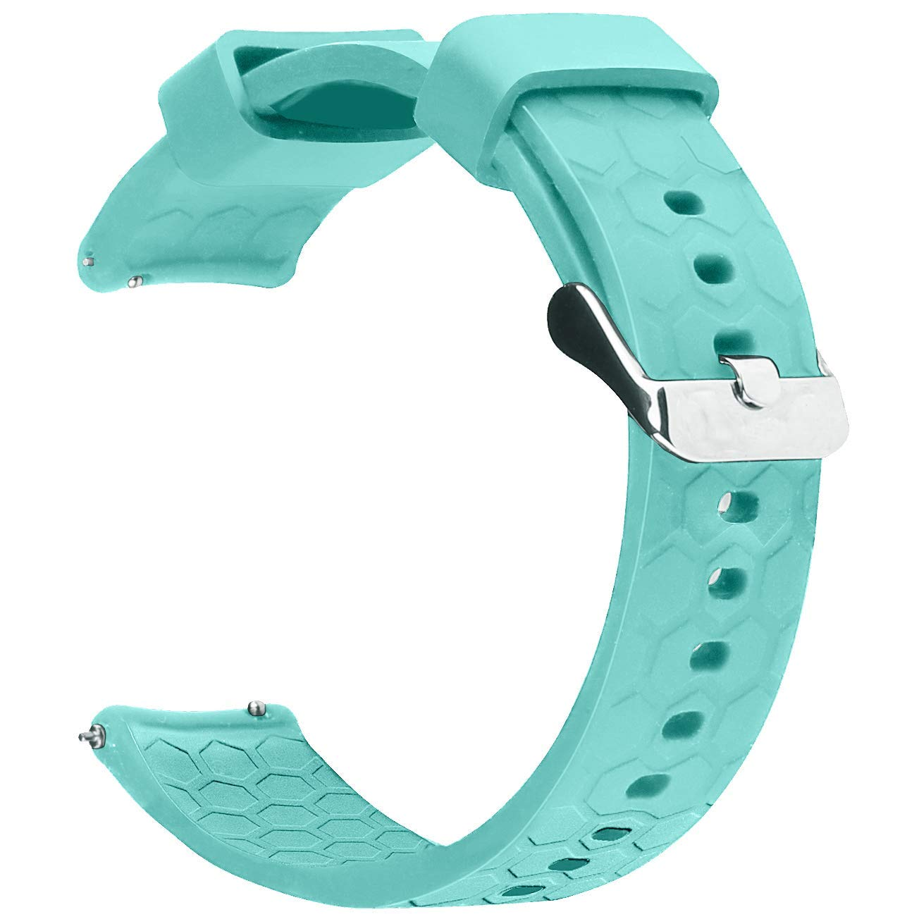 Amazon.com: ECSEM 20mm Width Replacement Silicone Bands ...