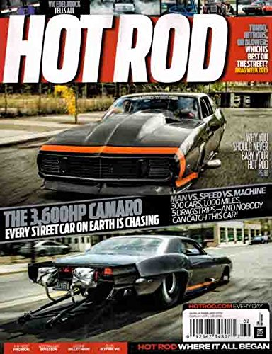 - Hot Rod Magazine February 2016