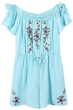 ea33ed63bb9 Amazon.com  Speechless Girls  Big Knit Romper  Clothing