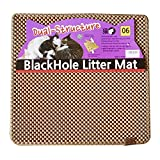 BlackHole Litter Mat Blackhole Cat Litter Mat – Medium Square 23″ X 21″ (Beige)
