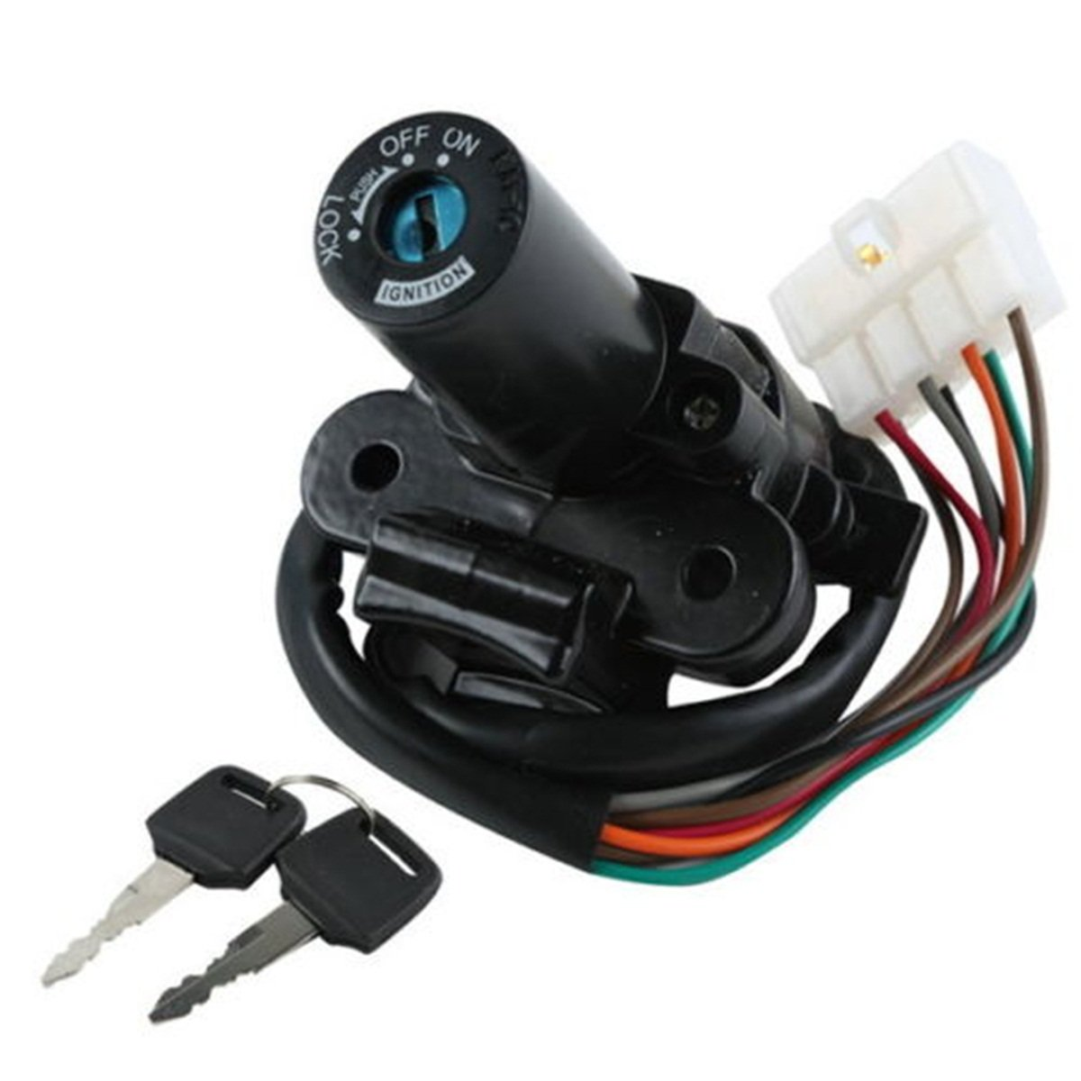 Amazon.com: Ignition Switch Lock & Keys For KAWASAKI EX250 NINJA 250R 08-12  NINJA 300 13-15: Automotive