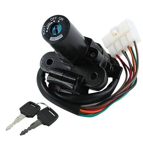 amazon com ignition switch lock keys for kawasaki ex250 ninja rh amazon com