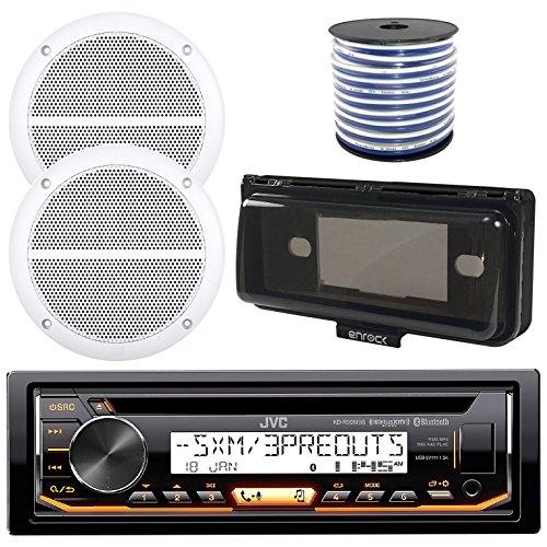 JVC In-Dash Marine Boat Bluetooth Radio USB CD Receiver Bund