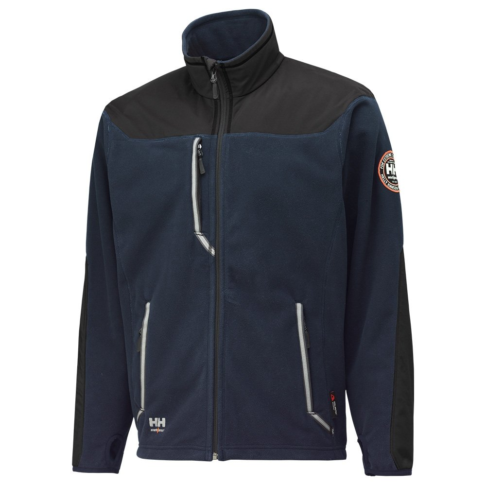 Helly Hansen Fleecejacke winddicht Barnaby Jacket 72048 Windblocker Fleece 599-XL