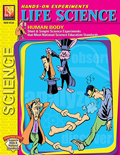 Hands-On Experiments: Life Science: The Human Body | Reproducible Activity Book