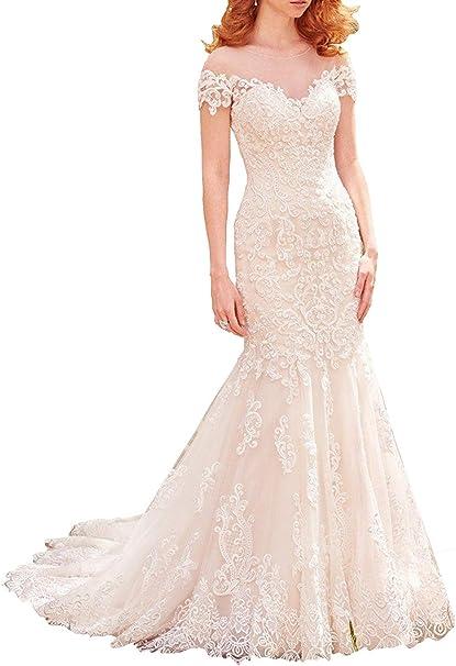 JAEDEN Robes de mariée Sirène Robe de Nuptiale