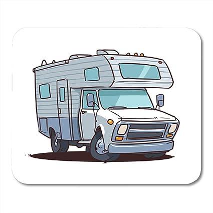 Amazon com : Semtomn Gaming Mouse Pad Camper Cartoon Camping