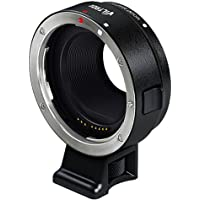 Walmeck Viltrox Lens Mount Adapter Auto Focus EF-EOS for Canon EF EF-S Lens and Canon EOS Mirrorless Camera
