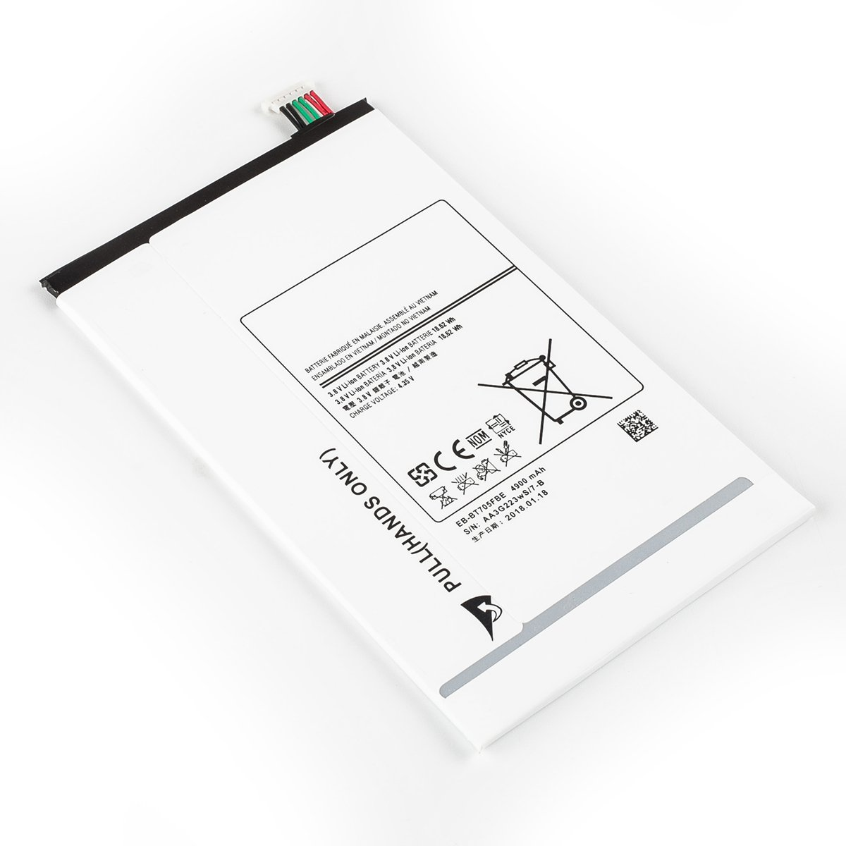 TANAKA EB-BT705FBE EB-BT705FBC EB-BT705FBU Battery Compatible Samsung Galaxy Tab S 8.4 SM-T700 SM-T705 SM-T705C Tools 3.8V 4900mAh