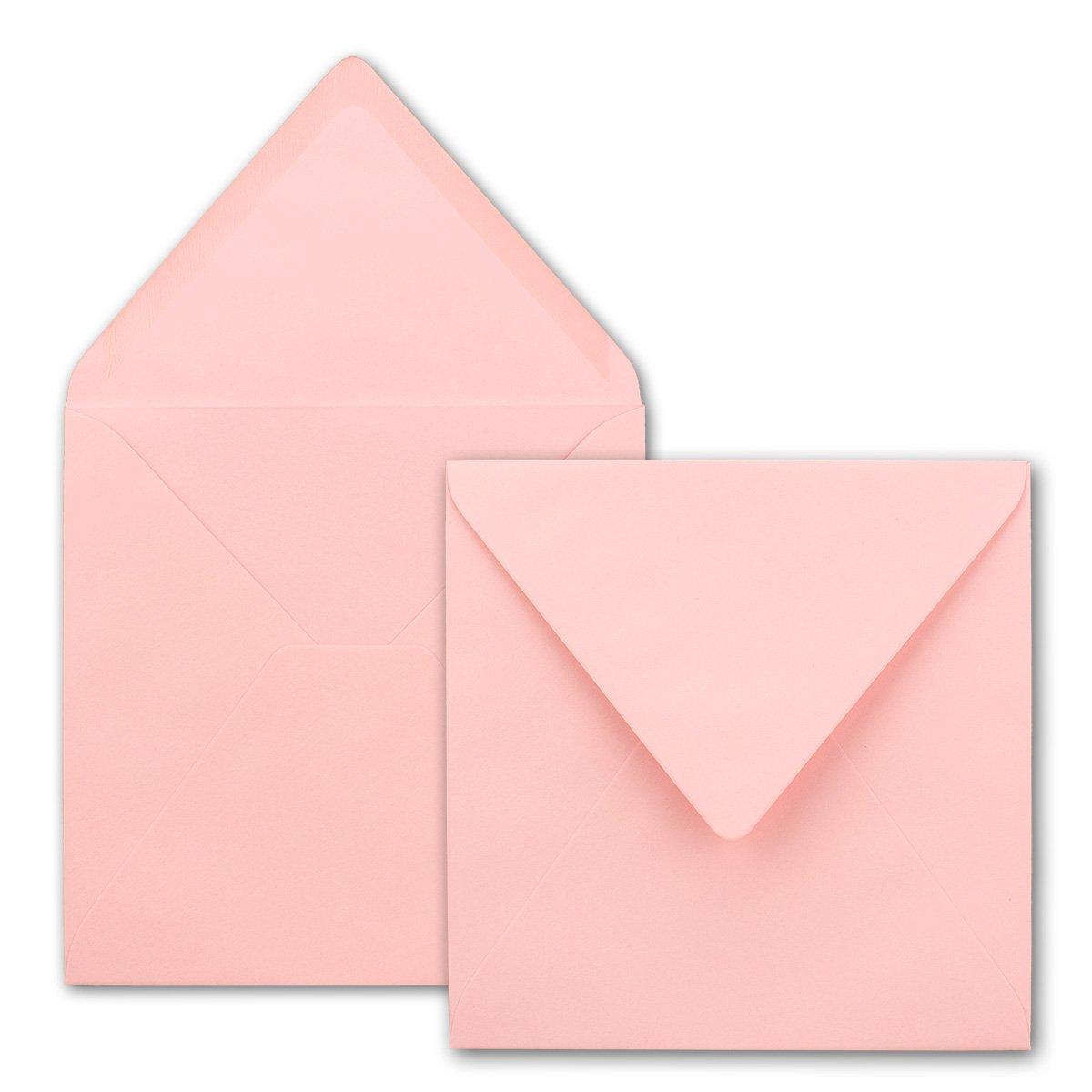 Quadratische Brief-Umschläge - Farbe Hochweiss     150 Stück   155 x 155 mm   Nassklebung   Für Einladungen & Hochzeit    Serie FarbenFroh® B07D2G1JDB | Deutschland Online Shop  bdd739