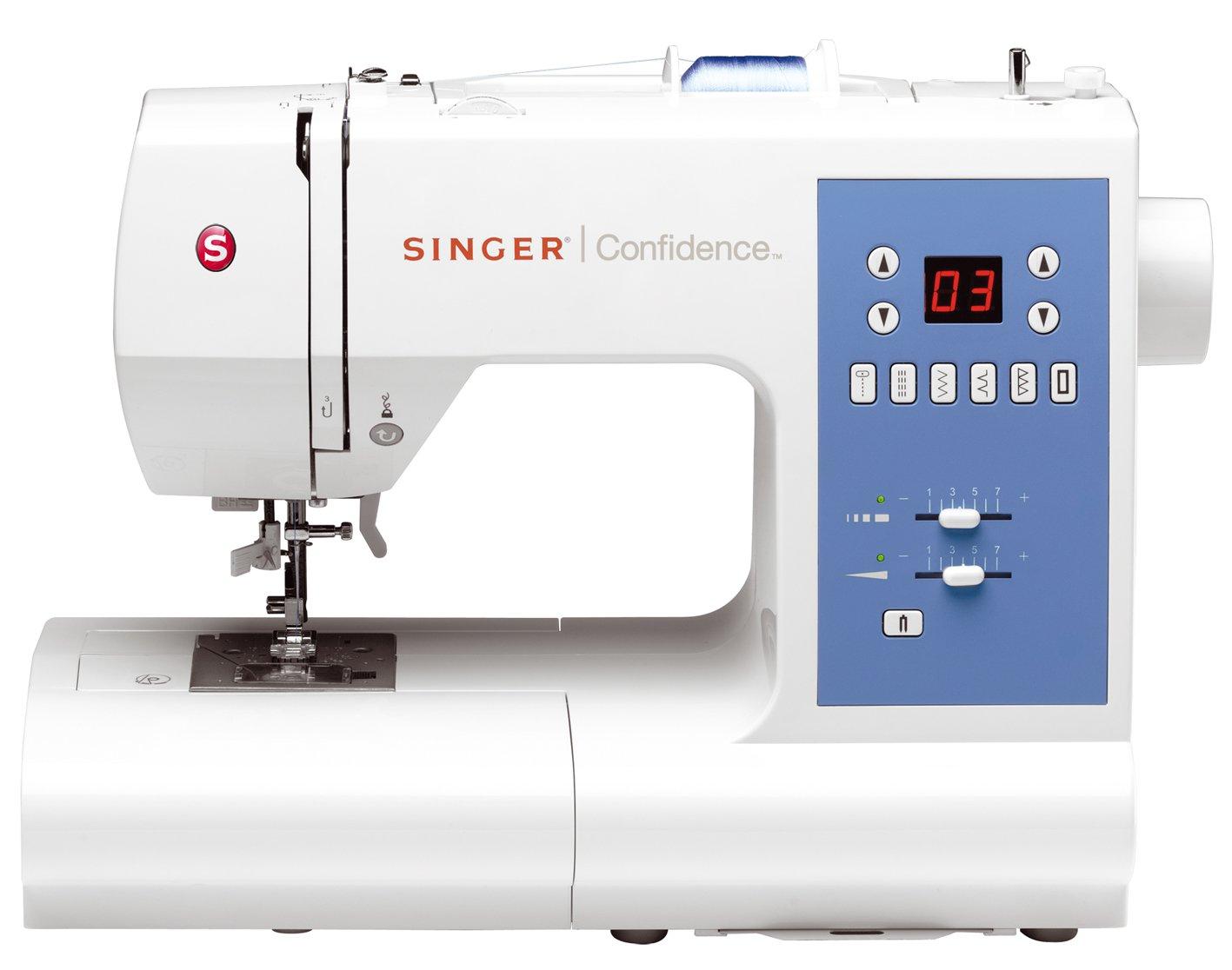 Singer Confidence 7465 - Máquina de coser electrónica, 50 puntadas ...