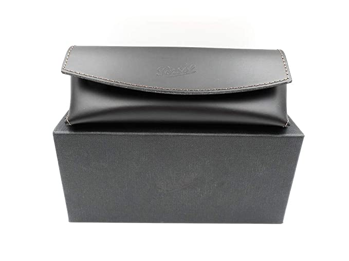 22326a89b01 image 0 Source · Persol Leather Magnetic Closure Sunglass Case at Amazon  Men s