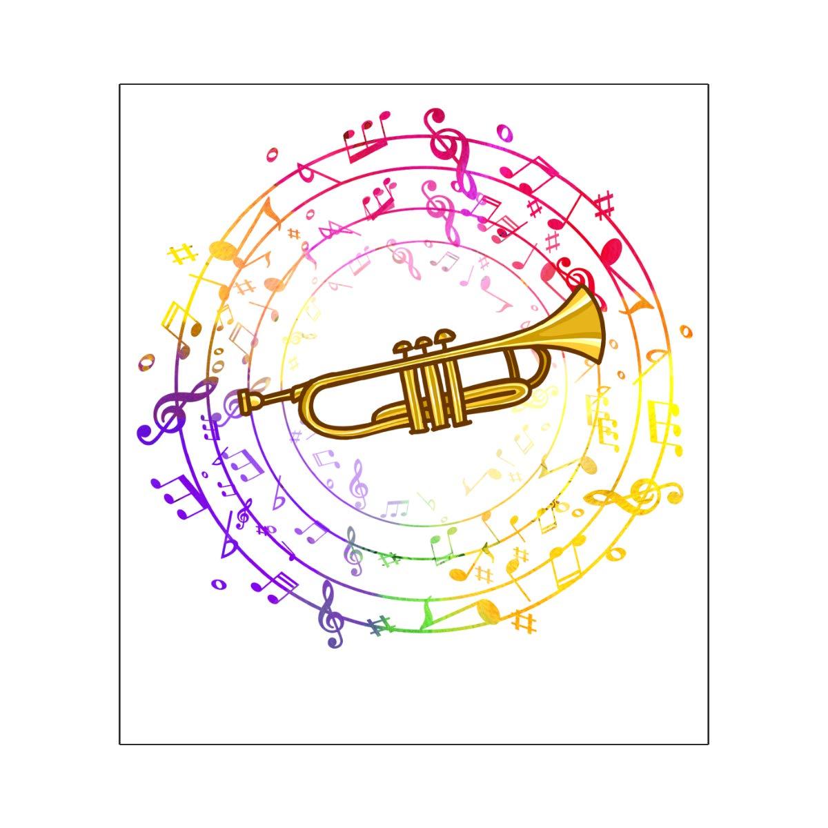 Harataki Trumpet is My Life Unisex-Baby Newborn Short-Sleeve Bodysuit Rompers