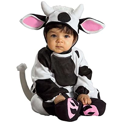 Rubie's Costume EZ-On Romper Costume, Cozy Cow, 6-12 Months: Clothing