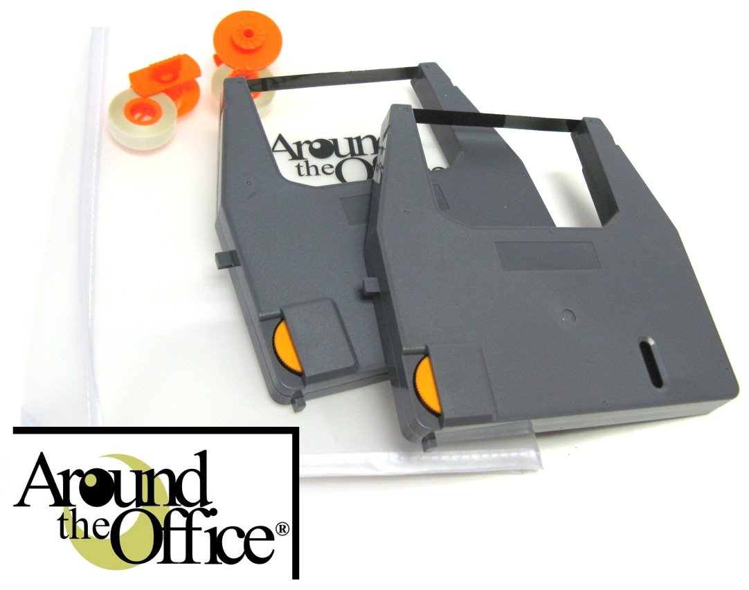 Around The Office Compatible Canon Typewriter Ribbon & Correction Tape for Canon ES-3.This Package Includes 2 Typewriter Ribbons and 2 Lift Off Tapes