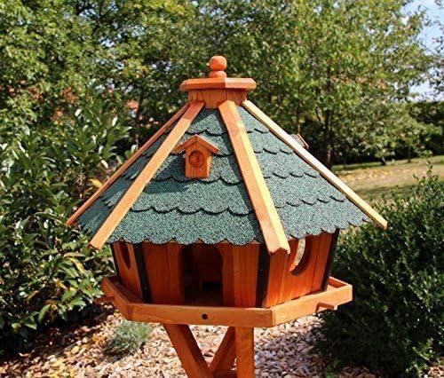 holzdekoladen Maxi Pajareras casa para Aves 70 x 48 cm - Green: Amazon.es: Jardín