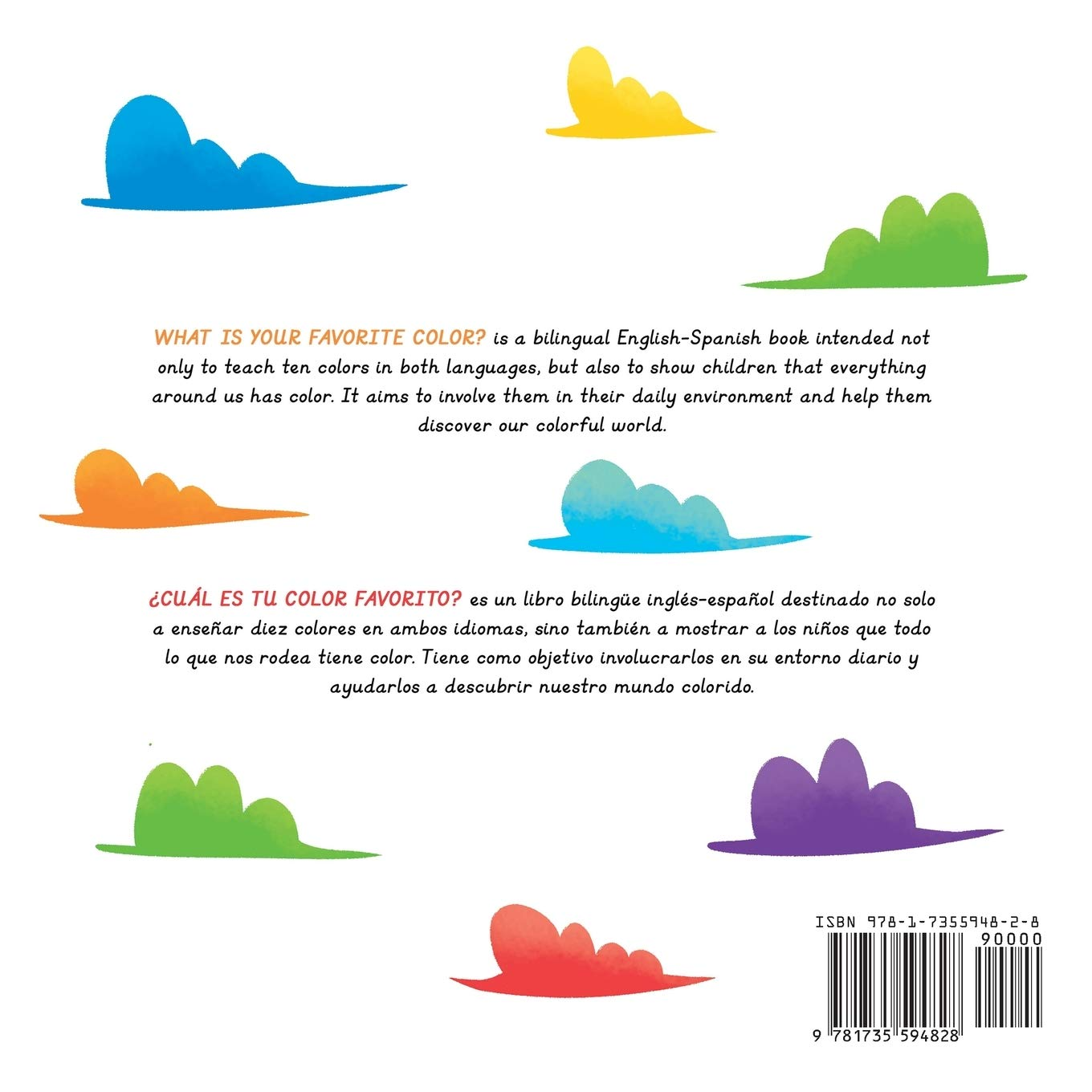 What Is Your Favorite Color Cuál Es Tu Color Favorito English Spanish Bilingual Book Of Colors Br