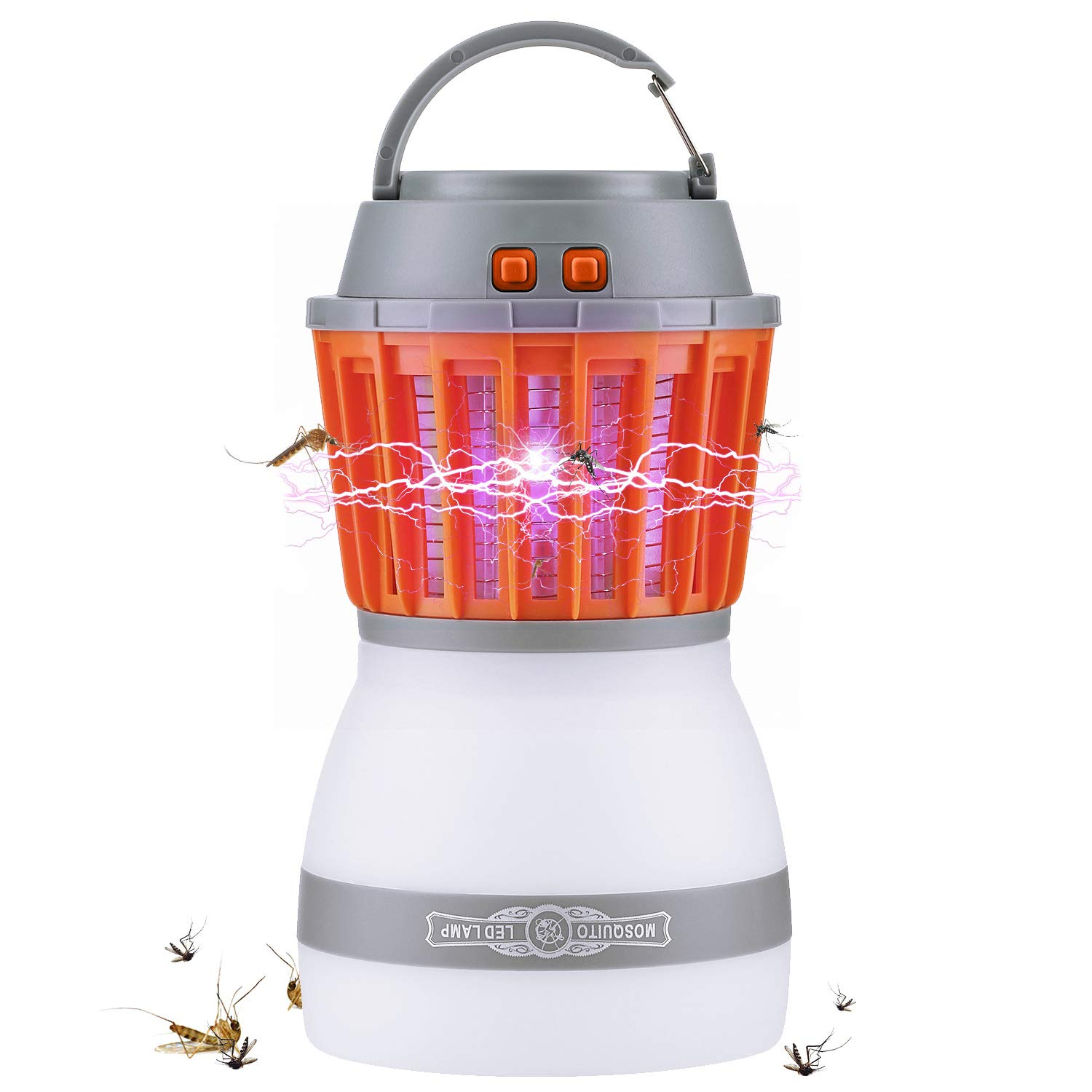 Fenvella 2018 Newest Bug 2 in 1 Fly Zapper with Camping Lantern,Waterproof,Portable Mosquito,Insect Killer for Indoor&Outdoor