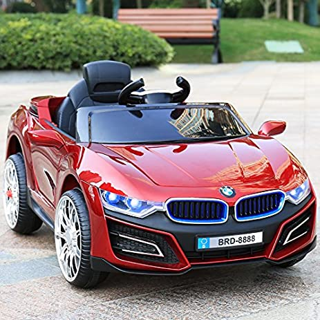 Electric Kids Cars >> Amazon Com 2 4g Bluetooth Remote Control Kids Electric Car With